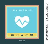 heart medical icon. graphic... | Shutterstock .eps vector #1562788510