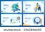 trendy flat illustration. set...   Shutterstock .eps vector #1562846650