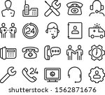 support vector icon set such as ...