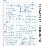 retro vector background with... | Shutterstock .eps vector #1562890366