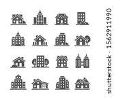 architecture city vector icon...   Shutterstock .eps vector #1562911990