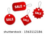 set of sale tags and labels ... | Shutterstock .eps vector #1563112186