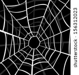 vector illustration of cobweb  | Shutterstock .eps vector #156312023