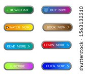 colorful clean buttons for...