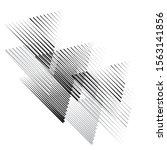 vector hipster triangle... | Shutterstock .eps vector #1563141856