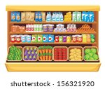 supermarket. vector | Shutterstock .eps vector #156321920