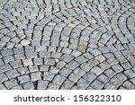 grey paving stones as... | Shutterstock . vector #156322310