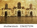 st. peters churchs entrance...   Shutterstock . vector #156327194