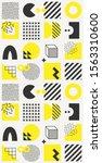 vector minimalistic seamless... | Shutterstock .eps vector #1563310600