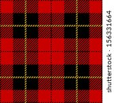 Red Seamless Tartan Plaid Design