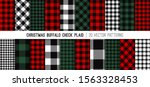 Christmas Buffalo Check Plaid...