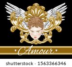amour.   vector hand drawn...   Shutterstock .eps vector #1563366346