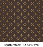 background,beige,brown,circle,cloth,diamond,fabric,floral,flower,geometric,louis vuitton,material,pattern,retro,seamless