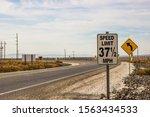 Unusual Speed Limit Sign...