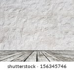 high resolution  wood floor and ... | Shutterstock . vector #156345746