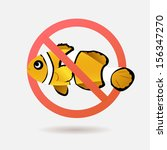 no fishing | Shutterstock .eps vector #156347270