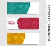vector abstract background.... | Shutterstock .eps vector #156351239