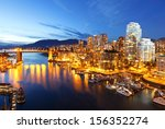 Stock photo the city of vancouver in canada 156352274