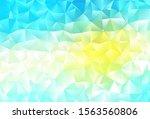 Light Blue  Yellow Vector...