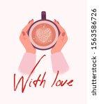valentine's day illustration....   Shutterstock .eps vector #1563586726