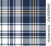 blue plaid pattern vector...   Shutterstock .eps vector #1563595969