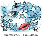 abstract vector illustration...   Shutterstock .eps vector #156360536