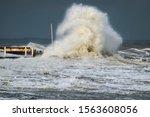 Breakwater And Harbour In...