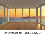 empty modern lounge area with... | Shutterstock . vector #156362270