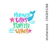 mermaid vector illustration.... | Shutterstock .eps vector #1563651286