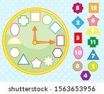matching children educational... | Shutterstock .eps vector #1563653956