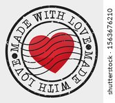 made with love stamp postal....