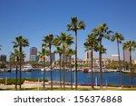 Long Beach California Skyline...