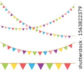 Carnival Garland With Flags....