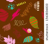 abstract modern trendy seamless ...   Shutterstock .eps vector #1563836833