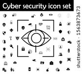 eye icon. cyber security icons...
