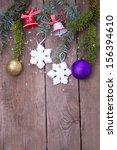 christmas decoration | Shutterstock . vector #156394610