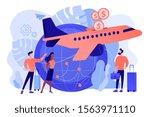 cheap tickets for air... | Shutterstock .eps vector #1563971110