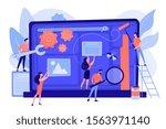 technical support  programming... | Shutterstock .eps vector #1563971140