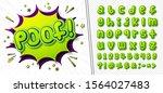 comics font  funny kid's...   Shutterstock .eps vector #1564027483
