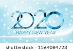 2020 new year and merry... | Shutterstock . vector #1564084723