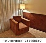 luxury interior with brown... | Shutterstock . vector #156408860