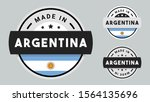 made in argentina collection... | Shutterstock .eps vector #1564135696