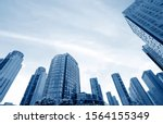 high rise buildings in the... | Shutterstock . vector #1564155349