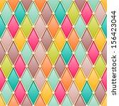 vintage diamonds   rhombus... | Shutterstock .eps vector #156423044