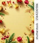 merry christmas and happy new... | Shutterstock .eps vector #1564230586