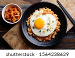 Kimchi Fried Rice With Fried...