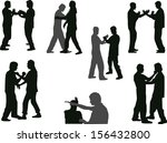 illustration with different... | Shutterstock .eps vector #156432800