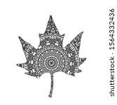 Mandala Platanus Leaf....