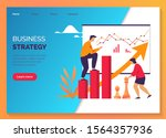 business strategy  marketing... | Shutterstock .eps vector #1564357936