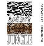 jungle. vector hand drawn...   Shutterstock .eps vector #1564392610